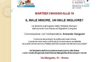 3 maggio 2016, incontro con Armando Sanguini