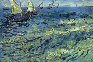 Barche a vela Van Gogh